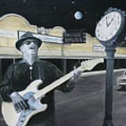 The Town Crier Art Print by Patricia Ann Dees
