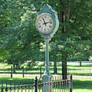 The Town's Clock Art Print
