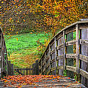 The Trail Arches On Art Print