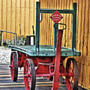 The Train Cart Art Print
