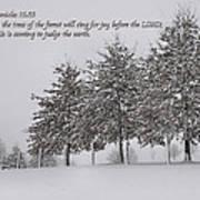 The Trees Art Print