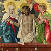 The Trinity And Mystic Pieta Art Print