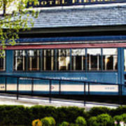 The Trolley Stop - Hotel Fiesole Art Print