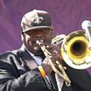The Trombone Player Art Print