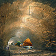 The Tunnel, From Coloured View Art Print
