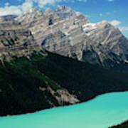 The Turquoise Colored Peyto Lake Art Print