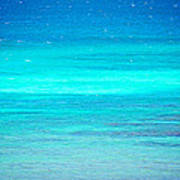 The Turquoise Sea Art Print
