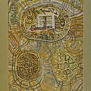 The Turtle Snake Art Print