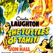 The Tuttles Of Tahiti, Us Poster, Top Art Print