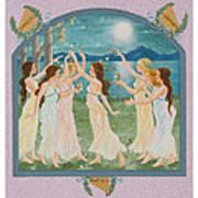 The Twelve Dancing Princesses Art Print