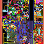 The Tzaddik Lives On Emunah 10 Art Print
