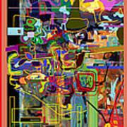 The Tzaddik Lives On Emunah 2 Art Print