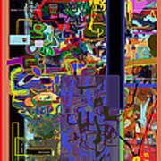 The Tzaddik Lives On Emunah 9 Art Print