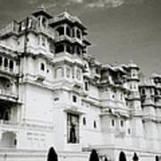 The Udaipur City Palace  Art Print