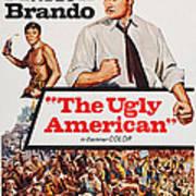 The Ugly American, Us Poster Art, Eiji Art Print