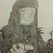 The Undertaker Art Print