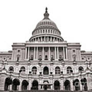 The United States Capitol  Art Print