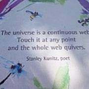 The Universe Print by Kay Gilley