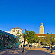 The University Of Texas Tower Art Print