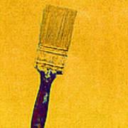The Used Paintbrush Art Print