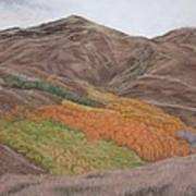 The Valley Of Color Art Print
