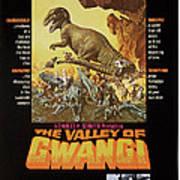 The Valley Of Gwangi, Us Poster Art Art Print