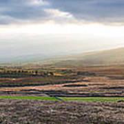 The Valleys In Wicklow Ireland Art Print
