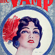 The Vamp Art Print
