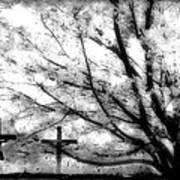 The Veil Was Torn Art Print