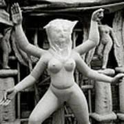The Veiled Durga Art Print