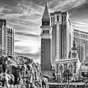 The Venetian Resort Hotel Casino Art Print