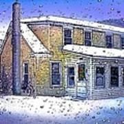 The Vermont Homestead Art Print