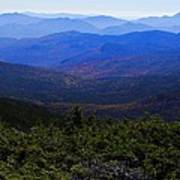 The View From Mt Washington Art Print