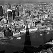 The View From The Shard II Art Print