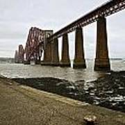 The View Of The Forth Bridge Art Print
