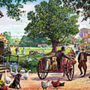 The Village Green Art Print