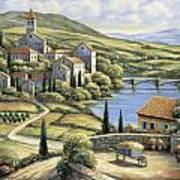 The Village Art Print by John Zaccheo