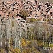 The Village Of Abyaneh In Iran Art Print