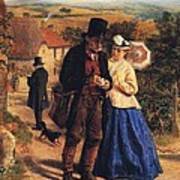 The Village Postman Art Print