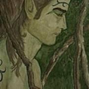 The Vine King Art Print by Carrie Viscome Skinner