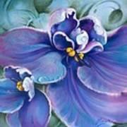 The Violet Art Print