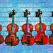 The Violin Store Art Print