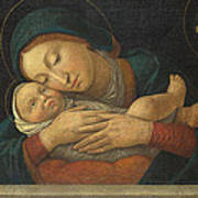 The Virgin And Child With Four Saints Art Print