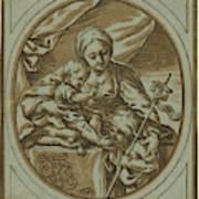 The Virgin, Child Art Print