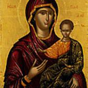 The Virgin Hodegetria Art Print
