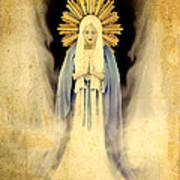 The Virgin Mary Gratia Plena Art Print