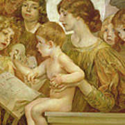 The Virgin Of The Angels Art Print