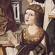 The Virgin Of The Catholic Monarchs Art Print