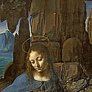 The Virgin Of The Rocks Art Print