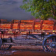 The Wagon Art Print
